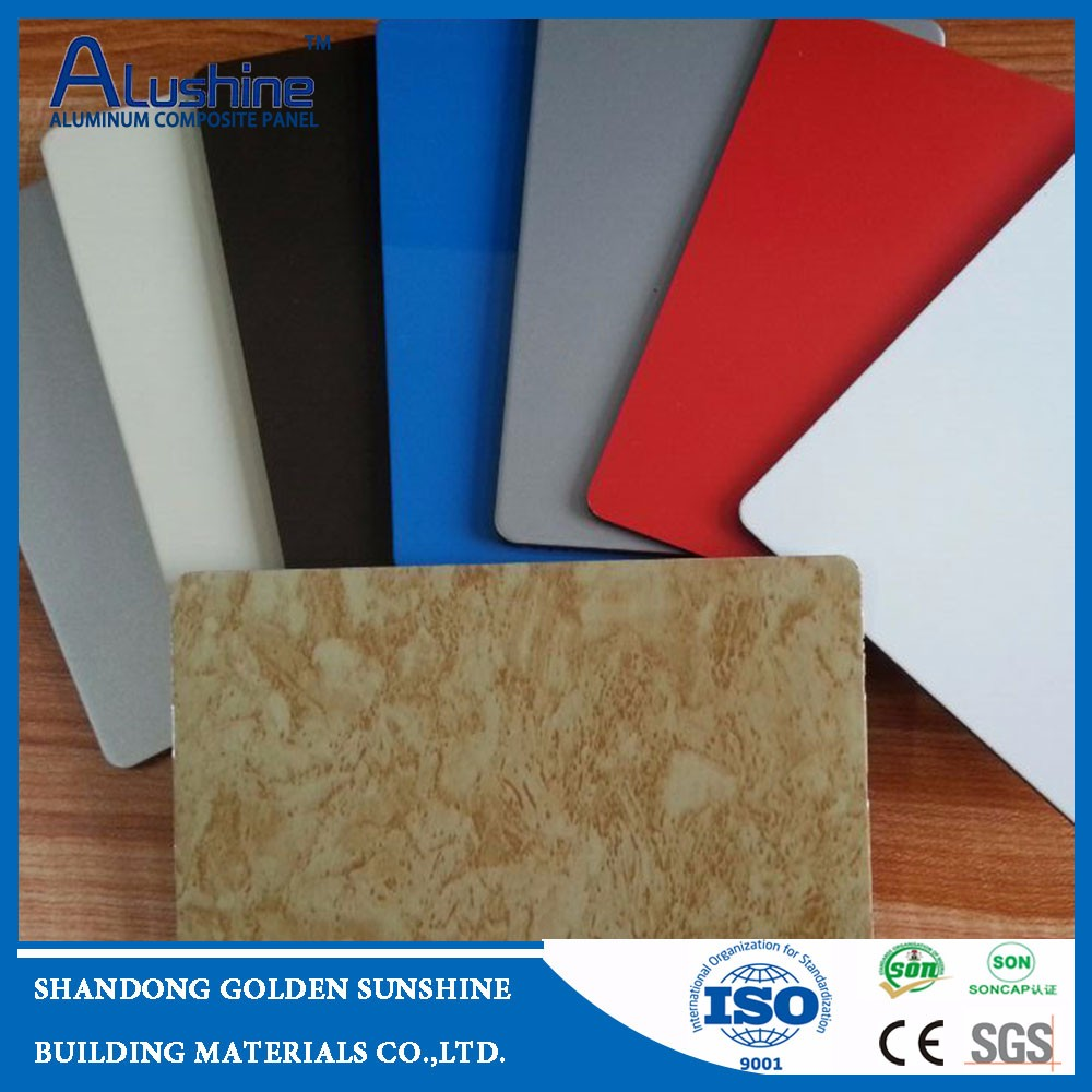 4mm/5mm 0.4mm/0.5mm aluminum composite panels