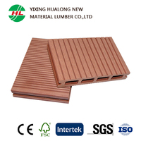 Hot Sale Wood Plastic Composite Exterior Flooring Decking WPC Floor for Garden