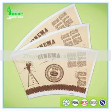 PE Coated Paper Cup Fan/ Paper Cup Blank/ Paper Cup Sheet