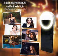 hot sale Ring Selfie Flash Light Micro 32 LEDS Portrait Fill Flash Light For Portable Smartphone Flash Fill Light