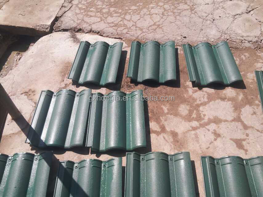 Hft536 Concrete Color Roof Tile Making Machine Price In