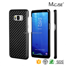 China Reliable Manufacturer Carbon Fiber PC Protector Cover for Samsung s8 Cellphone Cases