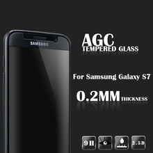 Factory Supply 9h premium smart phone Premium Anti-Scratch tempered glass screen guard for Samsung Galaxy S7 Screen proector