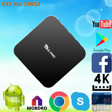 New brand 2017 TX5 Pro S905X 2G 16G nuovo box hd per la vendita Android 6.0 TV Box