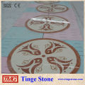 2014 Hot sale Water jet square design decoration