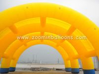 Fashionable designed outdoor inflatable arch tent for sale N5115