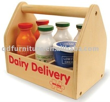 lovely bottle boxes wooden crate with carry handle