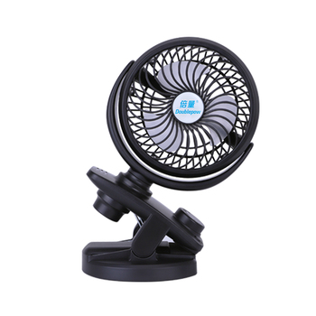 Double Handheld USB Fan Clip Fan Electric Mini Stand Table Fan Rechargeable For Office And Home