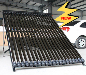 Made in China high efficiency heat pipe solar collector panel with best competitive price
