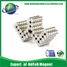n35 - n52 ndfeb magnet disc/neodymium magnets/pin magnets
