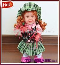 Electric girl baby doll picture of kids toy