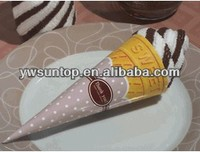 Ice cream Cone Towel Cake (3 Colors) wholesale