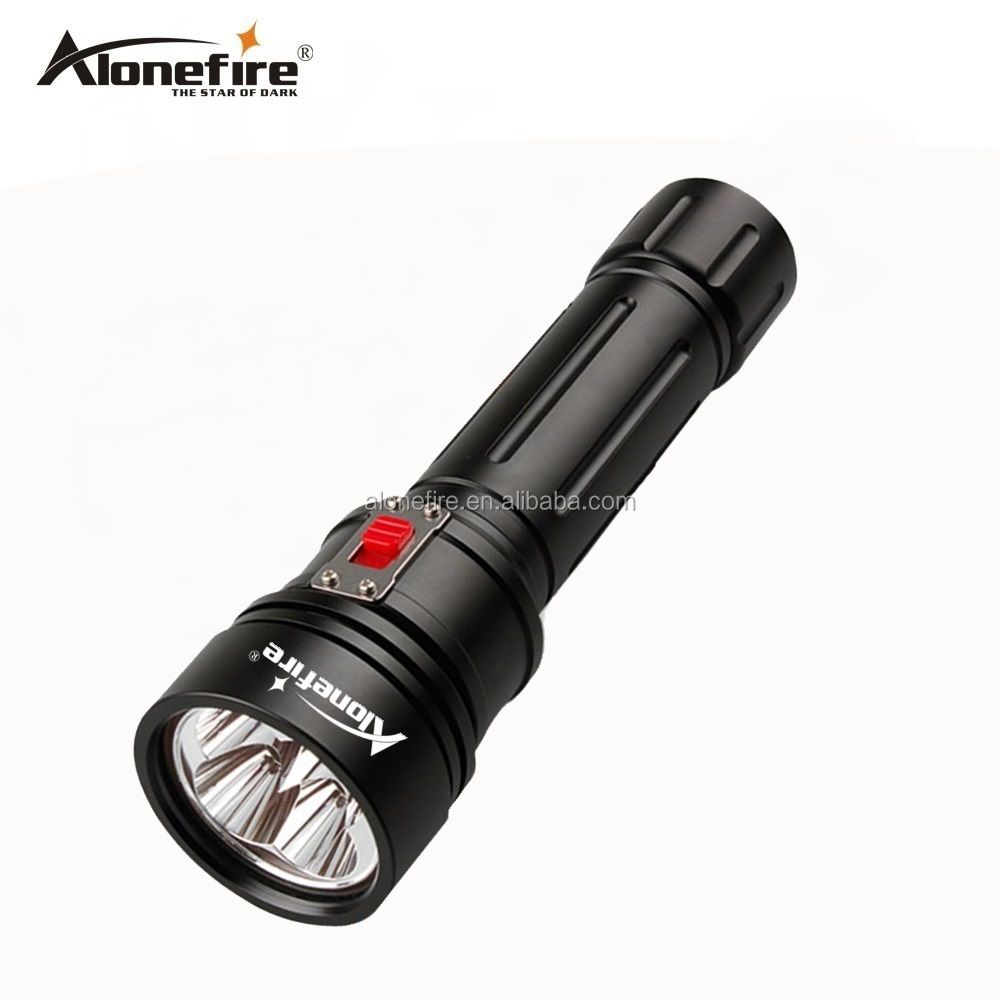 AloneFire DV46 Led Dive Light CREE XM <strong>L2</strong> U4 3800lm LED Scuba Technical Diving Torch Flashlight 200M Underwater 2*32650 Battery L