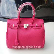 2017 Custom Wholesale Lady Hand Bag PU Elegance Designer Women Fashion HandBag