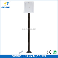 2015 best selling tablet floor stand, exhibition stand flooring, laptop floor stand