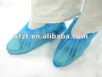 hot selling CPE sole shoe cover for medical,daily and surgical use