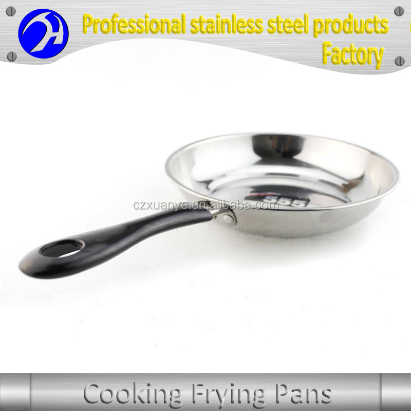 Stainless Steel Cooking Frying Pan for Induction Cooker Concessions