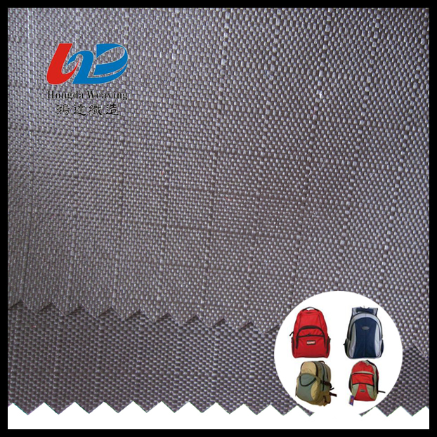 Oxford School Bag Fabric With PU/PVC Coating For Bag Material