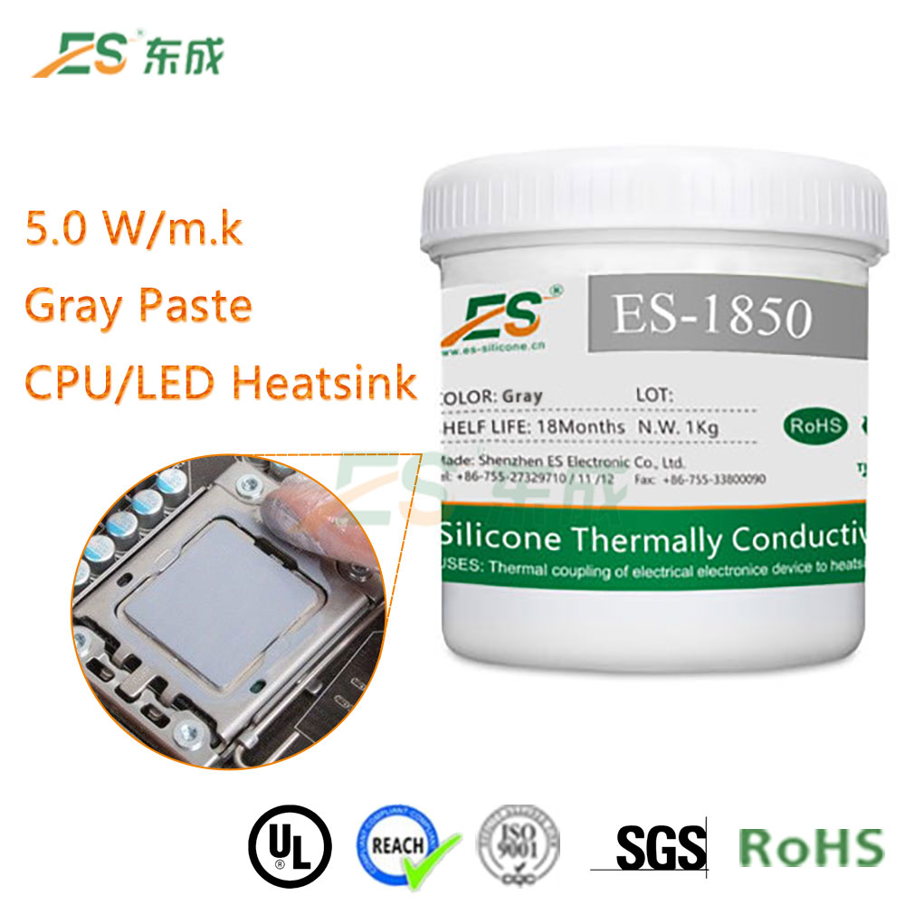 High quality 5W/mK High thermal conductive silicone rubber compound paste
