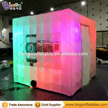 Wedding props inflatable photo booth shell tent for sale