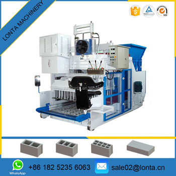 QMY12-15 Electric Mobile Egg Laying Concrete Block Making Machine