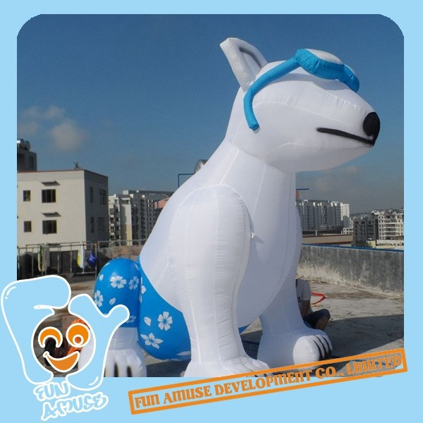 Giant Inflatable Cartoon Dog for sale