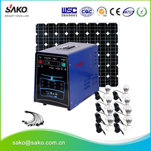 10W 20W 30W 50W Off-grid Solar System For Home And For Outdoor Lighting With Water Pump Washing Machine And High Efficiency Fan