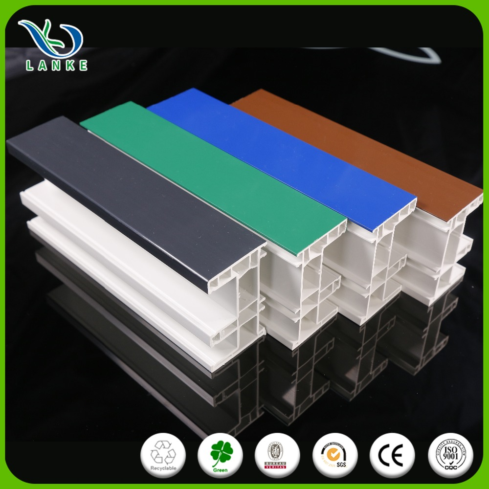 Safety reliable window plastic pvc upvc extrude building plastic profiles