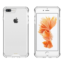 China Suppliers Crystal Clear Shock Proof Cases for iPhone 7 Plus Hard Acrylic Back + Soft TPU Frame Mobile Phone Cover