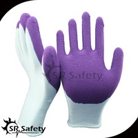 SRSAFETY breathable Foam Latex Glove for all gardening work