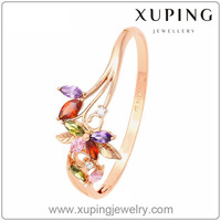 2016 New Year's Gift Xuping Fashion Colour Elegant Jewellery Bangle with High Quality Cubic Zircon