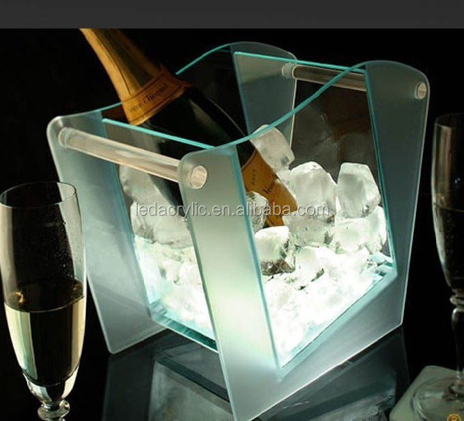 LED ciroc ice bucket