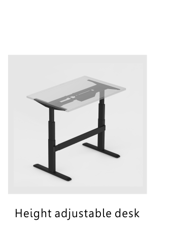 Ergonimic standing new gas sit stand office workstation,workstation desk.adjustable workstation