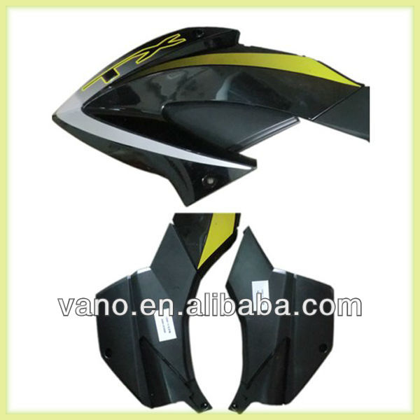 Plastic motorcycle gas tank shield side covers fairing covers for TX200