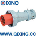 QIXING Hot products,high quality electric Plug 63A 4P 400V