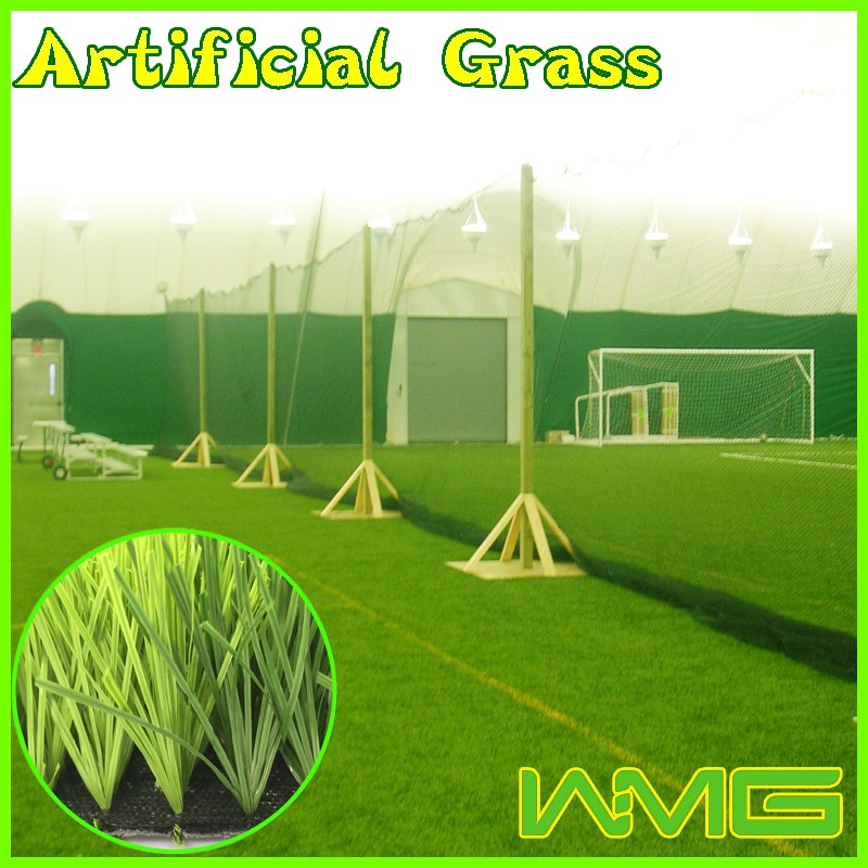 Customized good air permeability 8820 density indoor football artificial grass