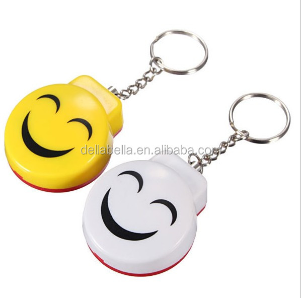 Anti-Rape Anti-Attack self-defense Electronic Safety Alarm With Smiling Face