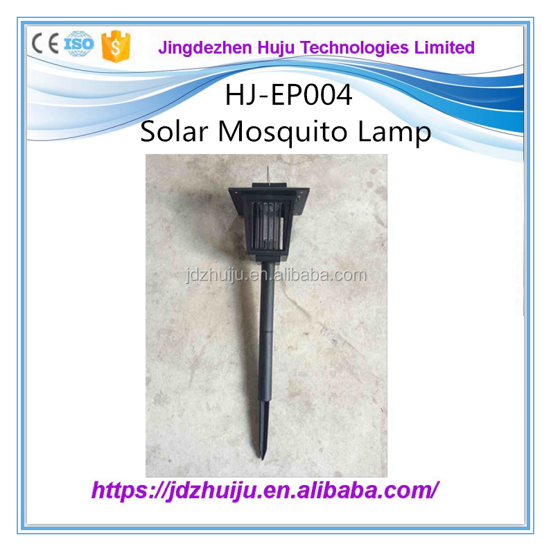 Solar insect killer bug zappers best soalr electric mosquito killer bat HJ-EP004