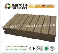 Wood plastic composite Solid Decking wpc outdoor decking floor