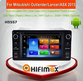 Hifimax Android 8.0 Car DVD For Mitsubishi Outlander XL (2012-)/ Lancer-X (2013-)/ ASX (2013-) Touch Screen Car Radio WIFI