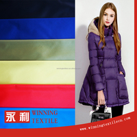 China manufacture 100% nylon fabric for down jacket