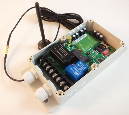 GSM remote control switch box (GSM-CTL-AC)