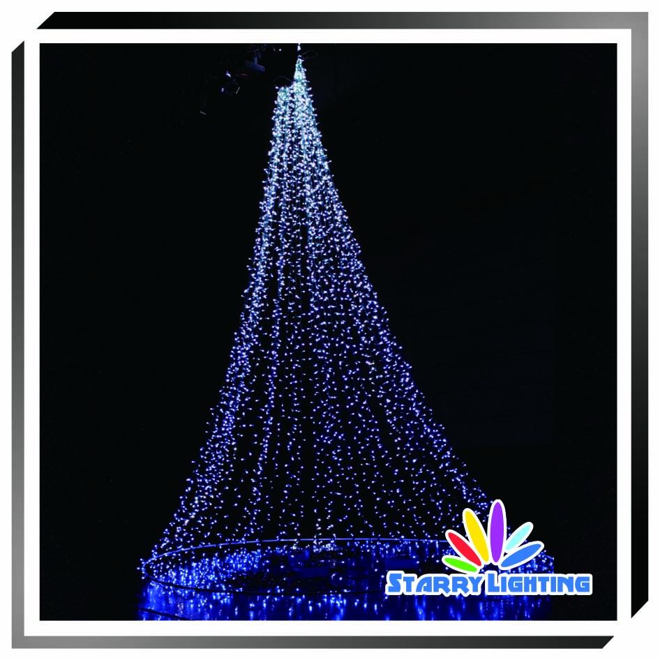 Festival Exhibits Lighting Cristmas Tree Decoration