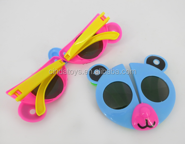 Plastic fashion deform 3d shape glasses for kids