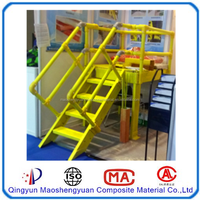 GRP ladder and FRP platform Can be customized