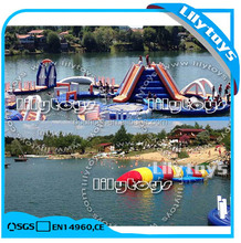 inflatable water floating playground kids water playground park for sale