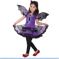 new sexy China wholesale girl purple dress halloween costumes for kids