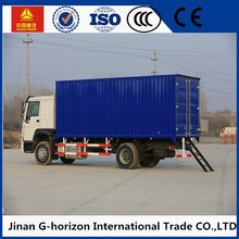 4.3m length dry cargo body 3.5T express delivery cargo van truck