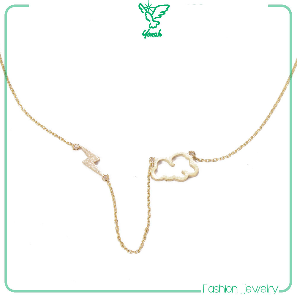 chains 18k gold plated jewelry necklace