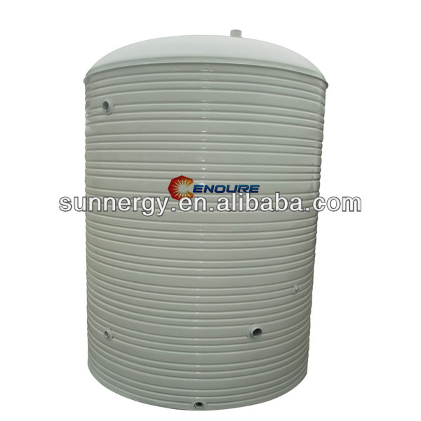 Stainless steel solar best cylindrical water tank